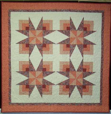 Pattern: Double Pinwheel Wall Hanging
